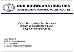 Oud bouwconstructies